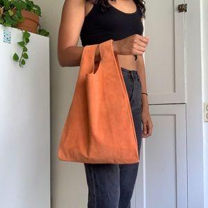 Medium Leather BAGGU